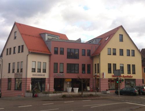 Ärztehauses mit Apotheke und Café, Weil der Stadt – Merklingen