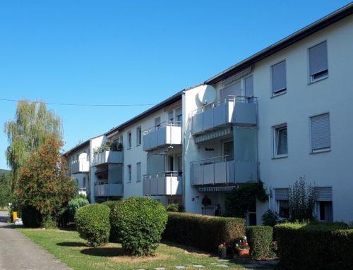 Fassaden- und Balkonsanierung von Mehrfamilienhäusern, Weil der Stadt